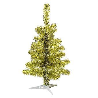 2ft (60cm) Kunstmatige Pine Kerstboom met stand - Goud