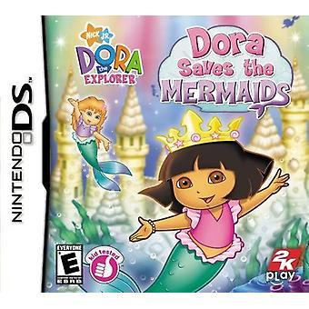 Dora The Explorer Dora Saves the Mermaids Nintendo DS Game