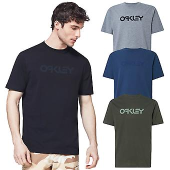 Oakley Mens 2020 Manga Curta Reversa Algodão Regular Fit T-Shirt