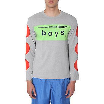 Comme Des Garçons Shirt S279331 Heren's Multicolor Katoen T-shirt