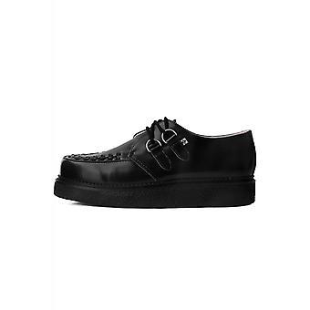 TUK Shoes 1970 Creeper Black Leather