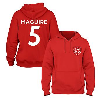 Harry Maguire 5 Man Utd Style Player Football Hoodie