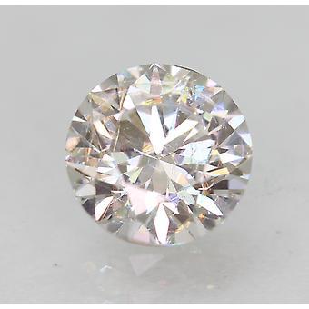 Zertifiziert 0.62 Karat F VVS2 Runde Brillant Enhanced Natural Diamond 5.39mm 3EX