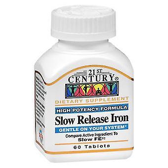 21st Century Slow Release Iron, 60 Tabs