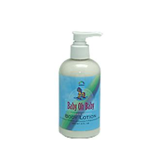 Rainbow Research Baby Oh Baby Herbal Body Lotion, Unscented 8 OZ