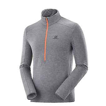 Salomon Outline HZ Mid LC1368700 running all year men sweatshirts
