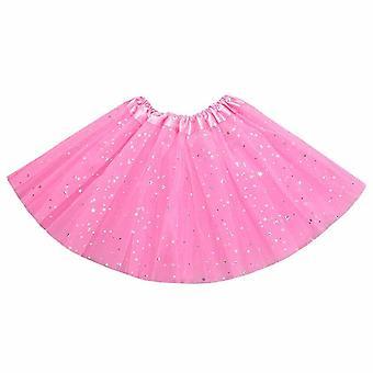 Sukně Star Print Mesh, Princezna baletní taneční party sukně