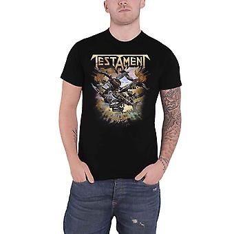 Testament T Shirt The Formation Of Damnation Band Logo new Official Mens Black