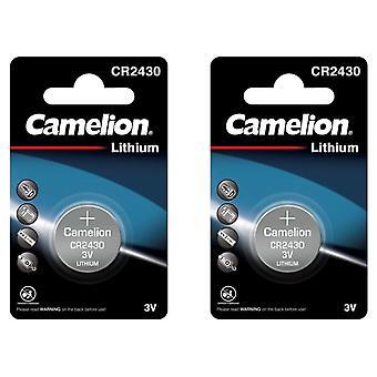 Camelion Battery CR2430 2-pack Lithium 3V