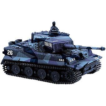 1:72 4 Couleurs Mini Tiger Battle Rc Tank- Télécommande Radio Control Panzer Blindé