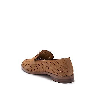 Franco Sarto Womens Hilton Leather Closed Toe Loafers