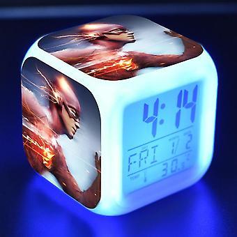 Colorful Multifunctional LED Children's Alarm Clock -The Flash Season 4 #4