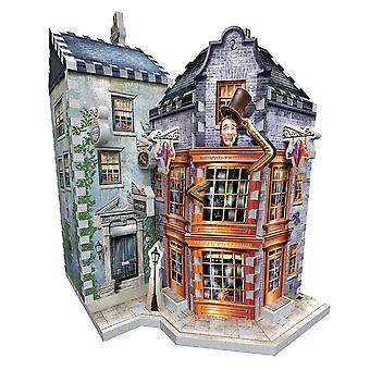 3D harry potter - weasleys' wizard wheezes and daily prophet 285pc 3d puzzle