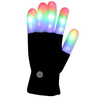 Led Lighting Mittens Gloves Adult Finger Flashing Party Fournitures
