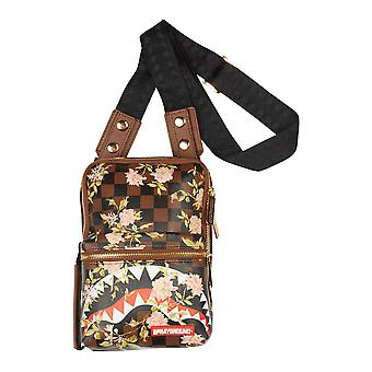 Sprayground Shark Flower Sling