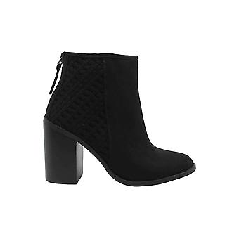 Madden Girl Womens Emmiie Fabric Closed Toe Ankle Fashion Boots