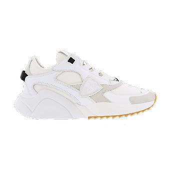 Philippe Model Eze Low Womanmondial Resau_Bla Chaussure blanche A11EEZLDWK06MONDIAL RESAU_BLANC chaussures