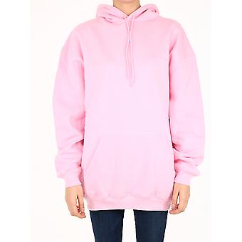 Balenciaga 578135tjva85700 Damen's rosa Baumwolle Sweatshirt