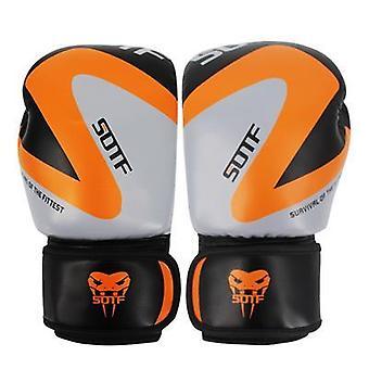 Women/men Boxing Sports Leather Gloves