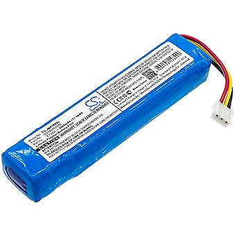 Speaker Battery for JBL DS144112056 MLP822199-2P Pulse 1 CS-JMP100SL 3000mAh