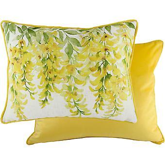 Evans Lichfield Blossoms Laburnum Cushion Cover