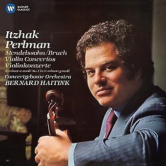 Itzhak Perlman - Mendelssohn: Violin Concerto No 2 - Bruch: Violin [CD] USA import