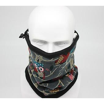 Fashion Winter Owl Bandana Scarf