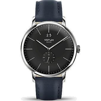 VOTUM - Reloj Unisex - VINTAGE - VINTAGE - V09.10.11.02 - correa de cuero - azul