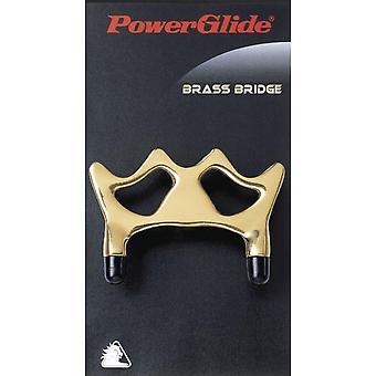 Powerglide Snooker & Pool Accessories Brass Bridge Sturdy Pro Cue Rest