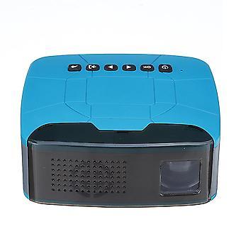 U20ミニポータブルプロジェクターサポート1080P 500:1コントラストホームシアタープロジェクター