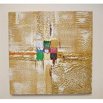 Colourfull Wall Art Modern High Quality Oil Painting Canvas 50 X 50 cm (1070B)