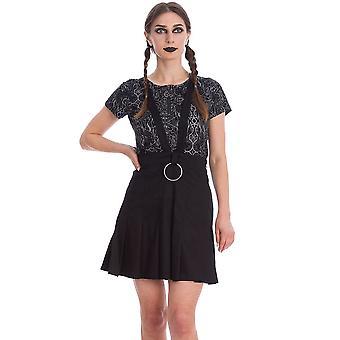 Banned Apparel Dark Dreams Pleated Skirt