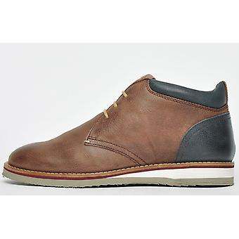 Base London Taylor Leather Brown / Navy