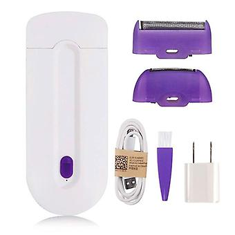 2-in-1 Rechargeable Electric, Painless Hair Removal, Laser Epilator, Sensor
