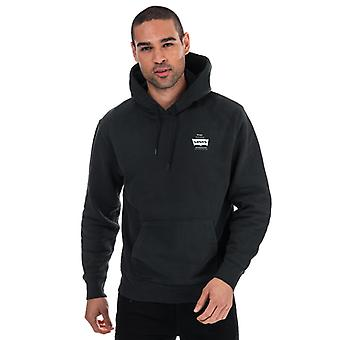 Men's Levis Grafisch Logo Hoody in Zwart