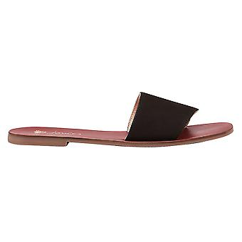 Joules mujeres Dayton Slip en sandalias deslizantes de cuero