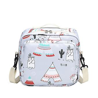 Large Capacity Baby Stroller Storage Bag - Mom Travel Hanging Carriage Pram