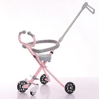 Children's Baby Stroller, Artifact With Brake, Five-wheel, Lightweight Trolley,