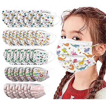 Lovely Print Kids Face-mask, Disposable, Masque Halloween Cosplay