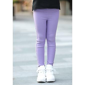 Girls Leggings Trousers Pockets Skinny For Spring Autumn Pants Clothes