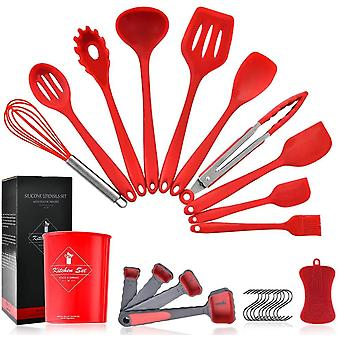 Pahajim Silicone Kitchen Utensils,Cooking Tool,Non-Stick Kitchen Baking Tools for Silicone Cooking