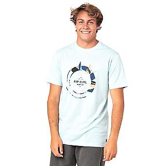 Rip Curl Men's T-Shirt ~ Filter lt blue
