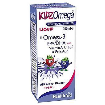 Terveysapu KidzOmega para Niños Liquido 200 ml