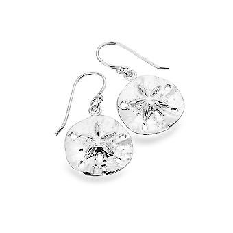 Sterling Silver Earrings - Origins Sand Dollar