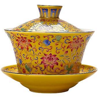 الصينية غايوان الشاي عاشق هدية اليدوية