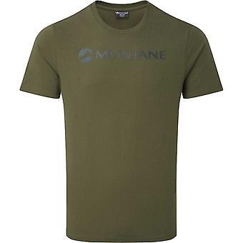 Montane Mono Logo T-Shirt - Kelp Green
