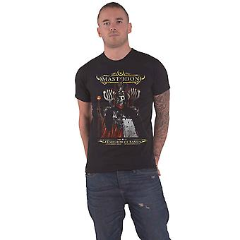 Mastodon T Shirt Emperor of Sand Band Logo Official Mens New Black