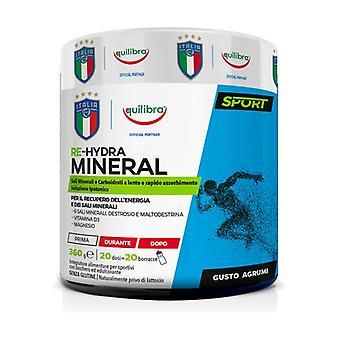Re-hydra mineral 360 g of powder