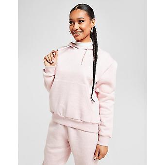 New McKenzie Women's Marl Overhead Hoodie Pink
