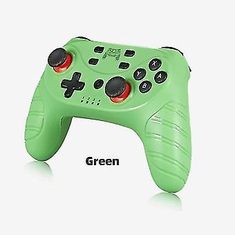 Bluetooth-handkontroll för N Switch Pro Lite Console Trådlös Gamepad-kostym (grön)